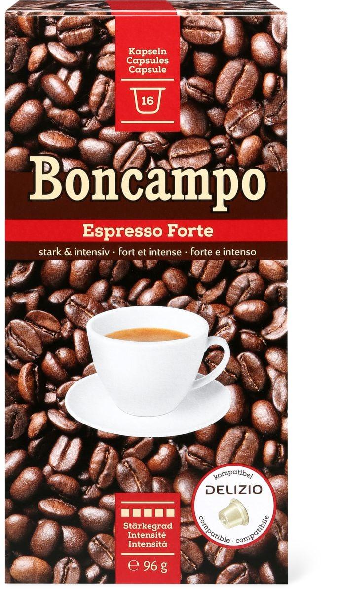 Boncampo espresso 16 capsules