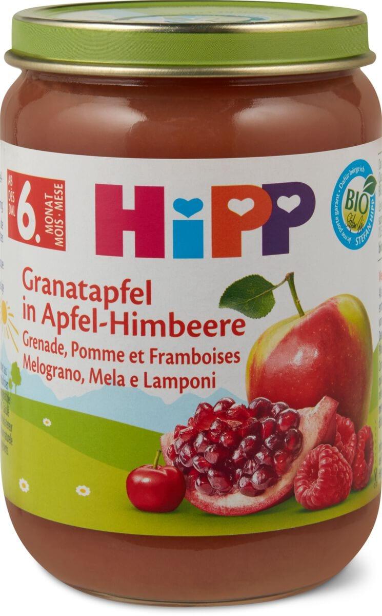 Hipp Granatapfel in Apfel-Himbeere