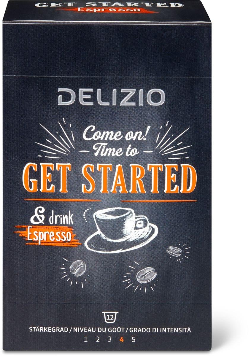 Delizio get started Espresso 12 Kap.