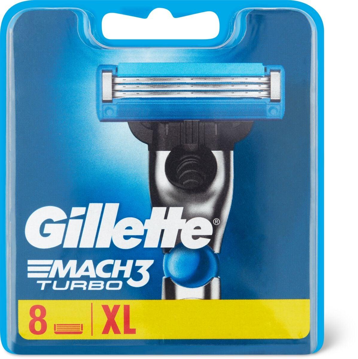Gillette Mach3 Turbo Ersatzklingen
