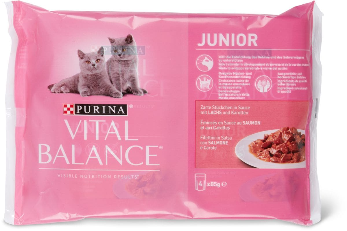 Vital Balance Junior Salmone