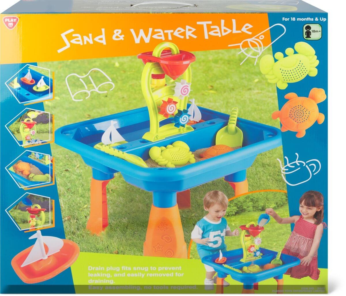 Playgo Sand und Wassertisch Sandspielzeug