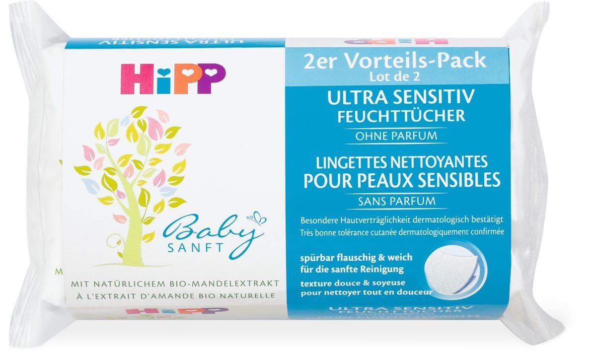 Hipp Baby Sanft salviettine umide - sensitive