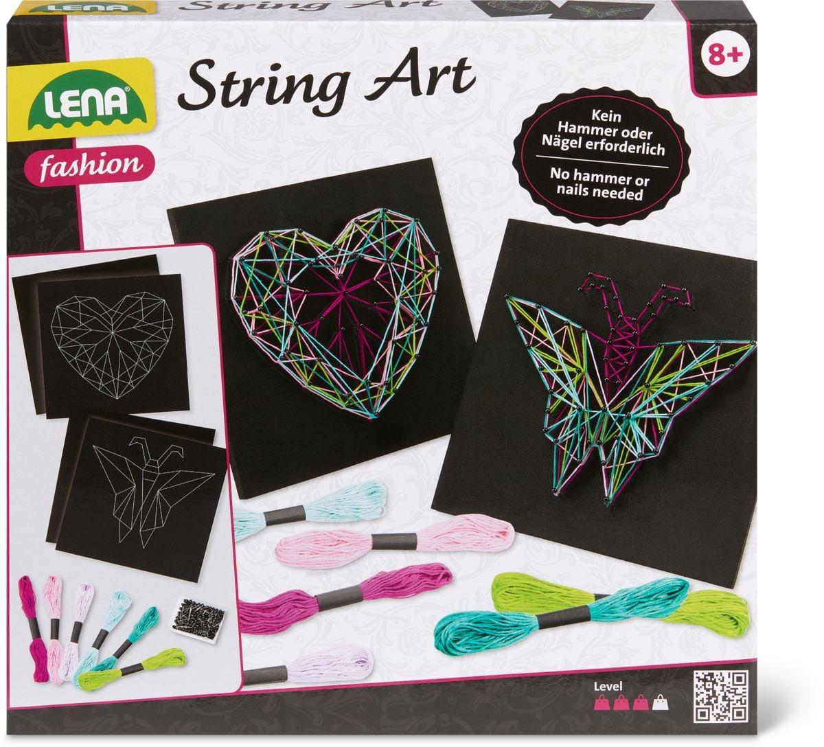 Lena String Art Schmetterling & Herz