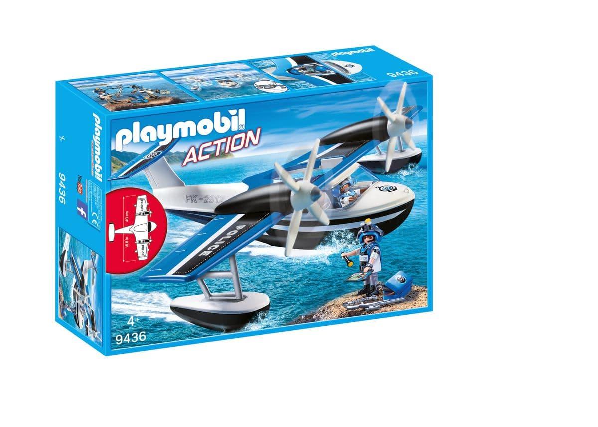 Playmobil Idrovolante della Polizia