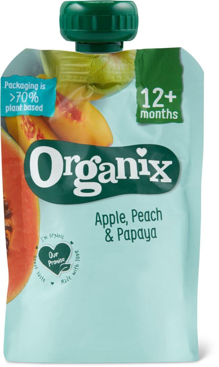 Organix Quetschbeutel Pfirsich Papaya