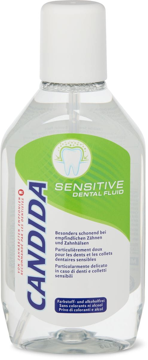 Candida dental fluid Sensitive
