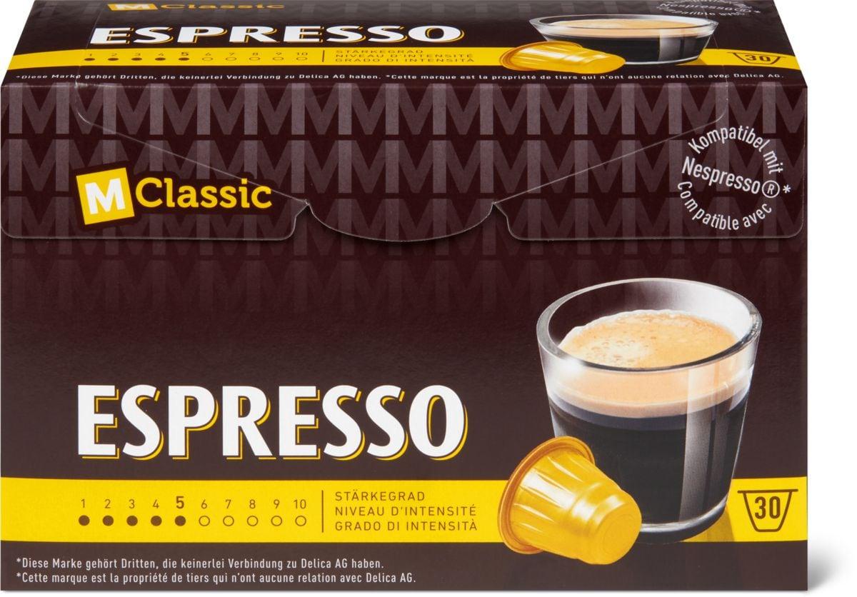 M-Classic espresso 30 capsules