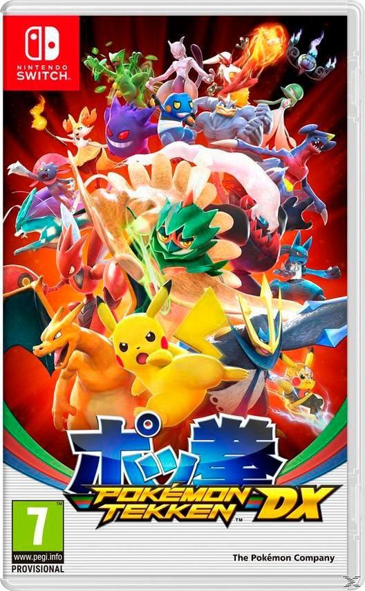 Switch - Pokémon Tekken DX  Box