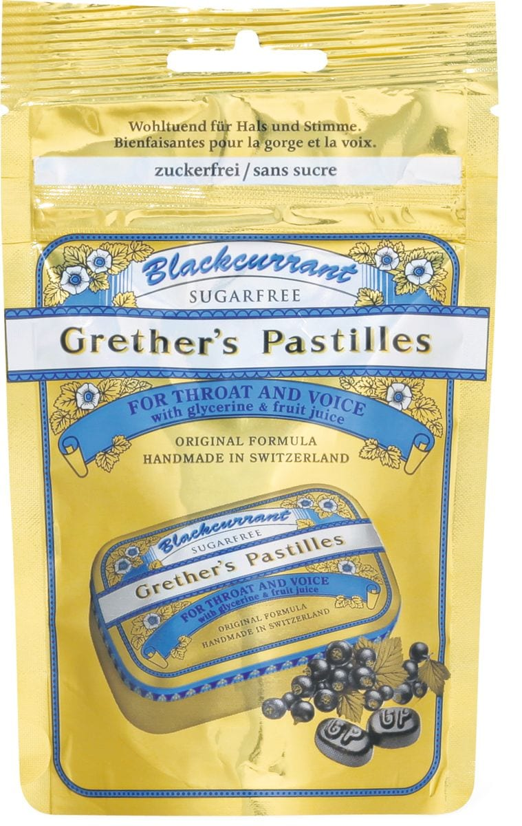 Grether's Pastillen Blackcurrant - Cassis