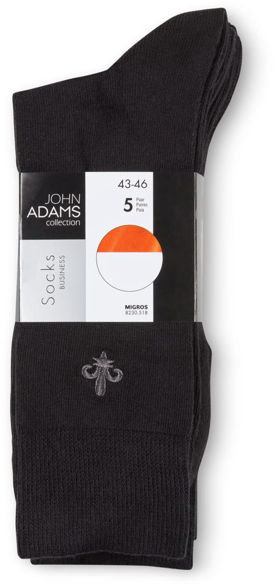 John Adams Herren-Socken im 5er-Pack