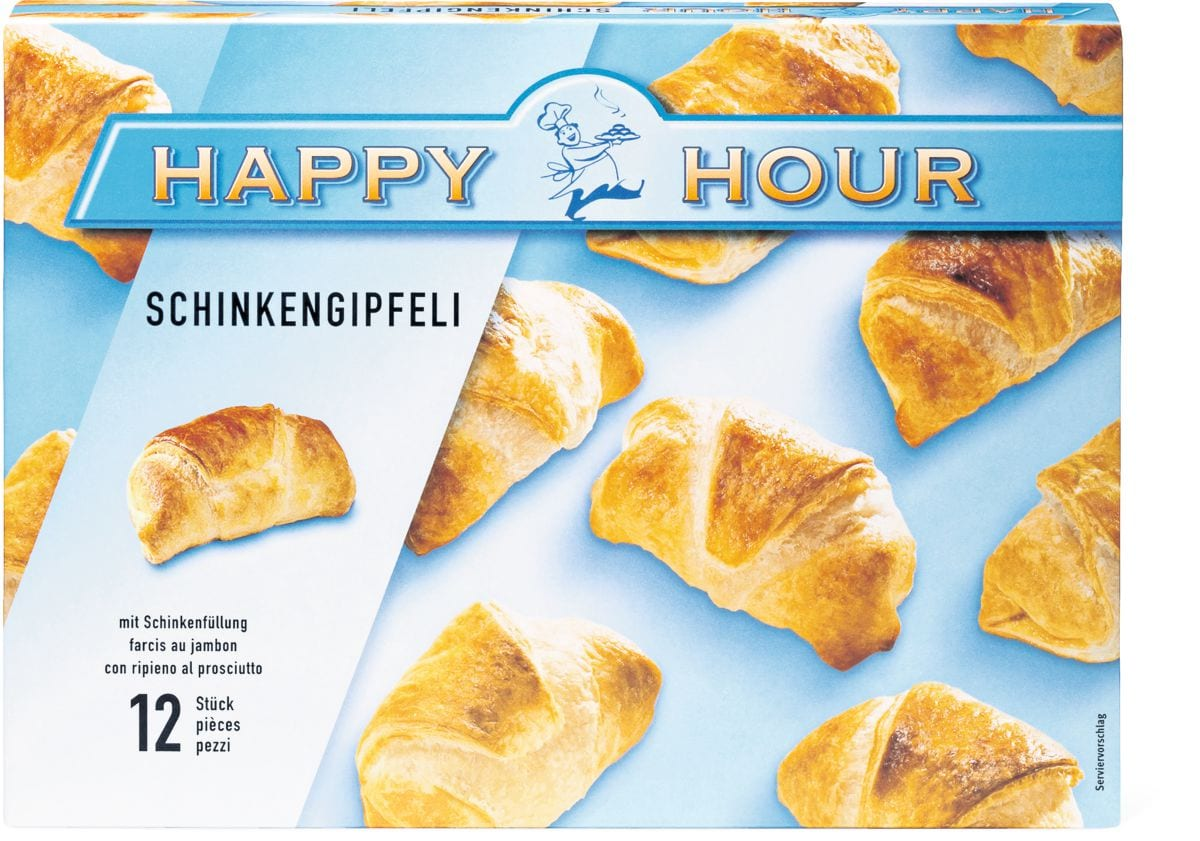 Happy Hour Schinkengipfeli