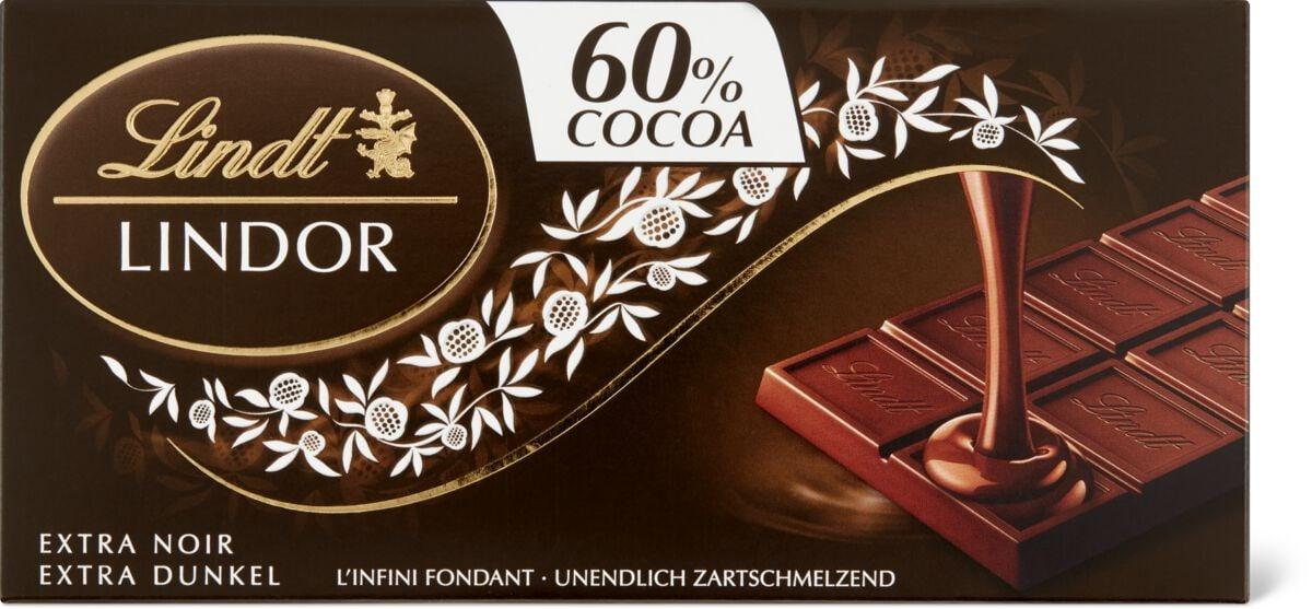 Lindt Lindor Extra Noir 60%