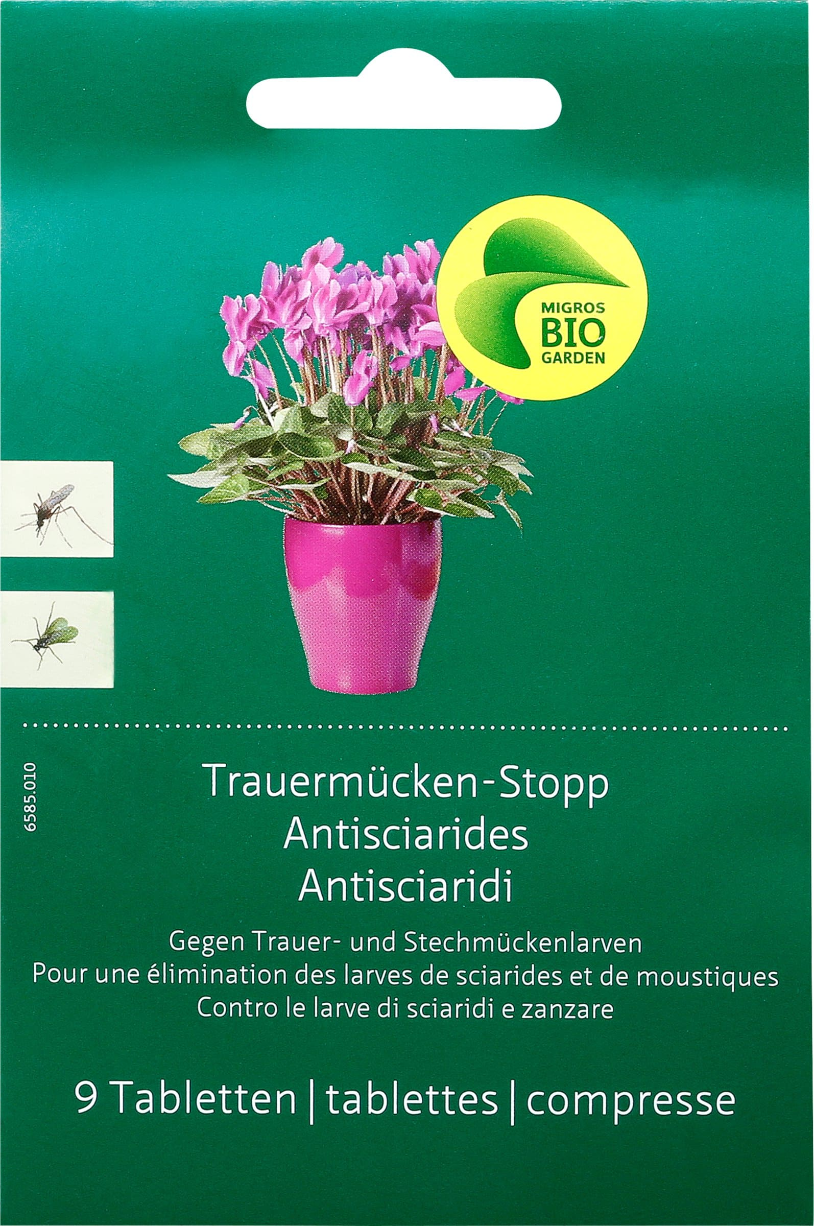 Migros-Bio Garden Trauermücken-Stopp