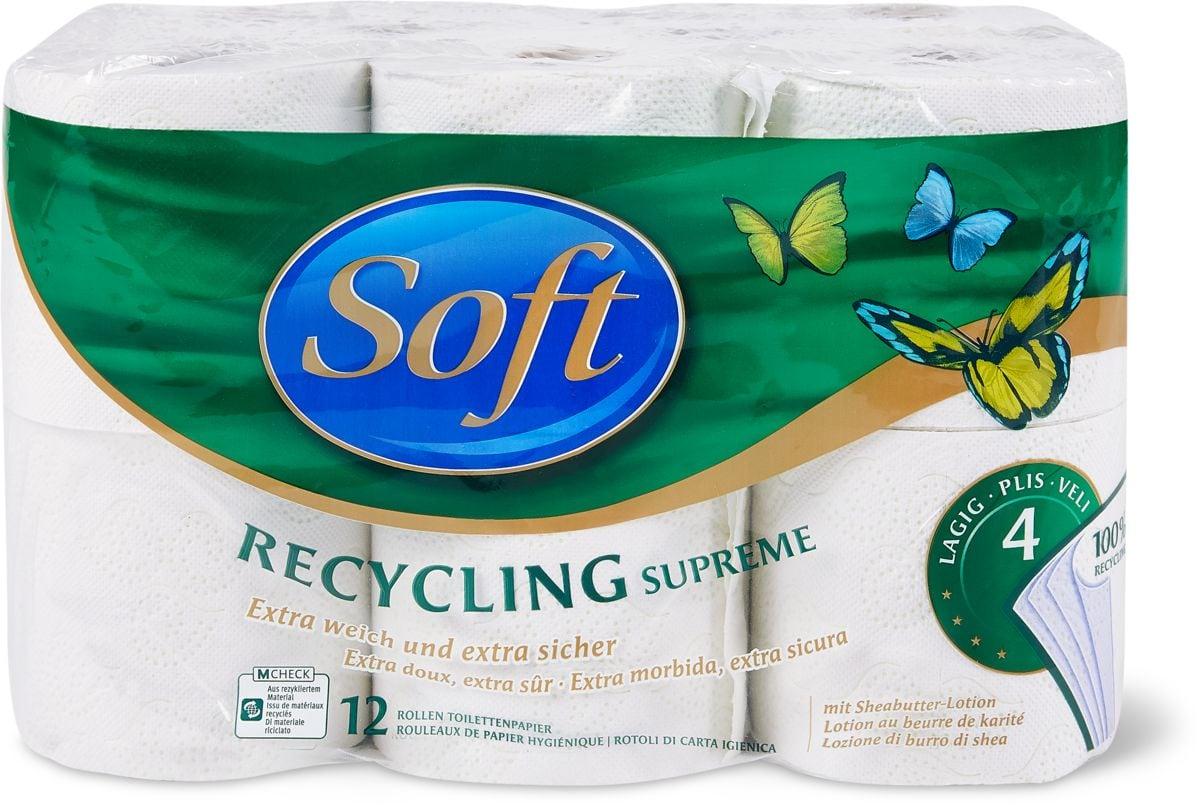 Soft Recycling Supr. Papier hygiénique