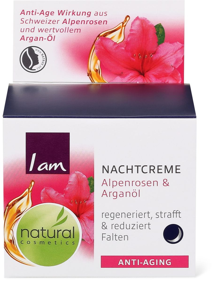 I am Natural Cosmetics Anti-Aging Nachtcreme