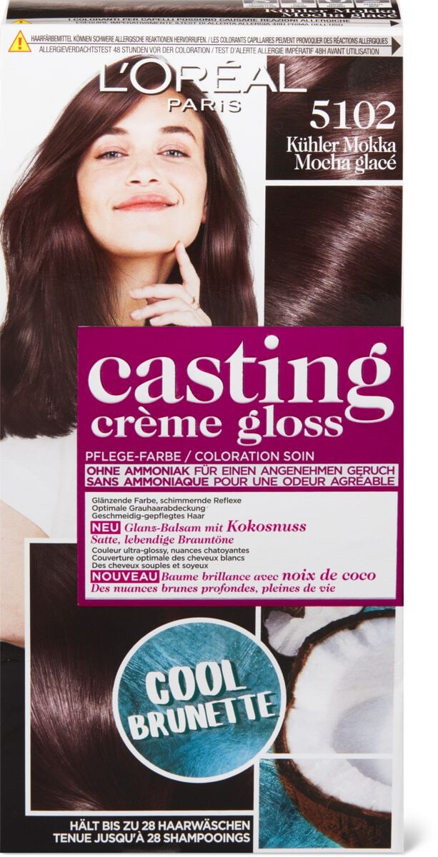 L'Oréal Casting  Crème Gloss 5102 Kühler Mokka