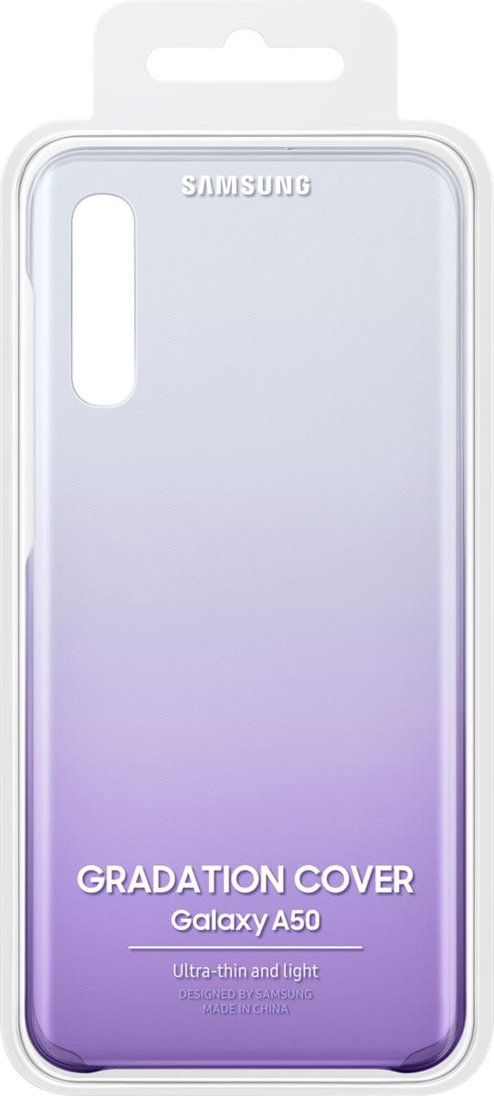 Samsung Gradation Cover A50 violet Coque