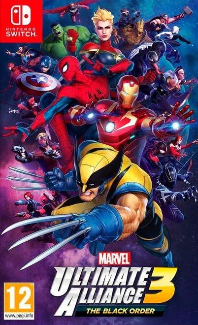 Nintendo NSW - Marvel Ultimate Alliance 3: The Black Order Box