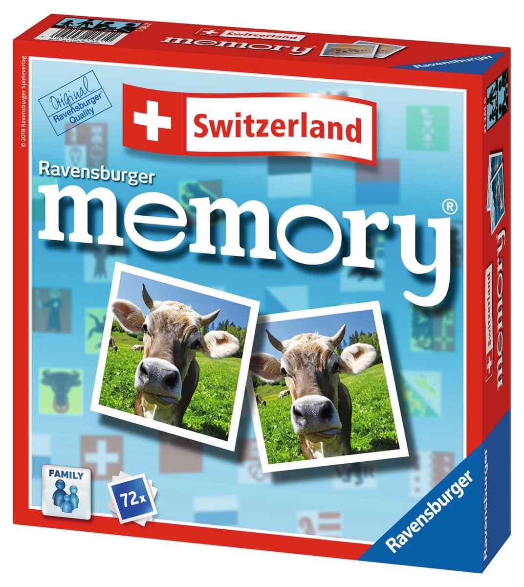 Ravensburger Switzerland Memory Gesellschaftsspiel