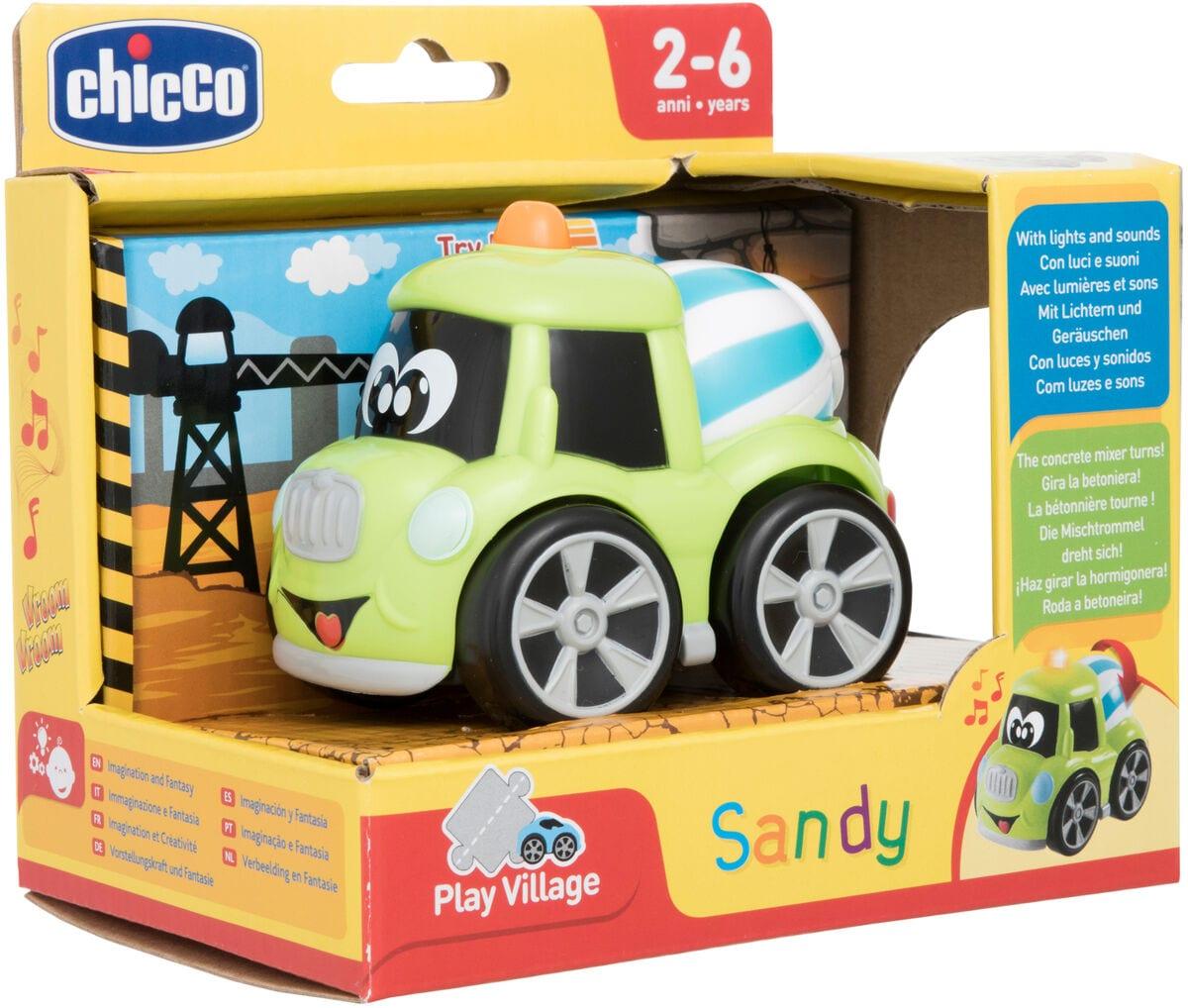 Chicco Builders Sandy Macchinine