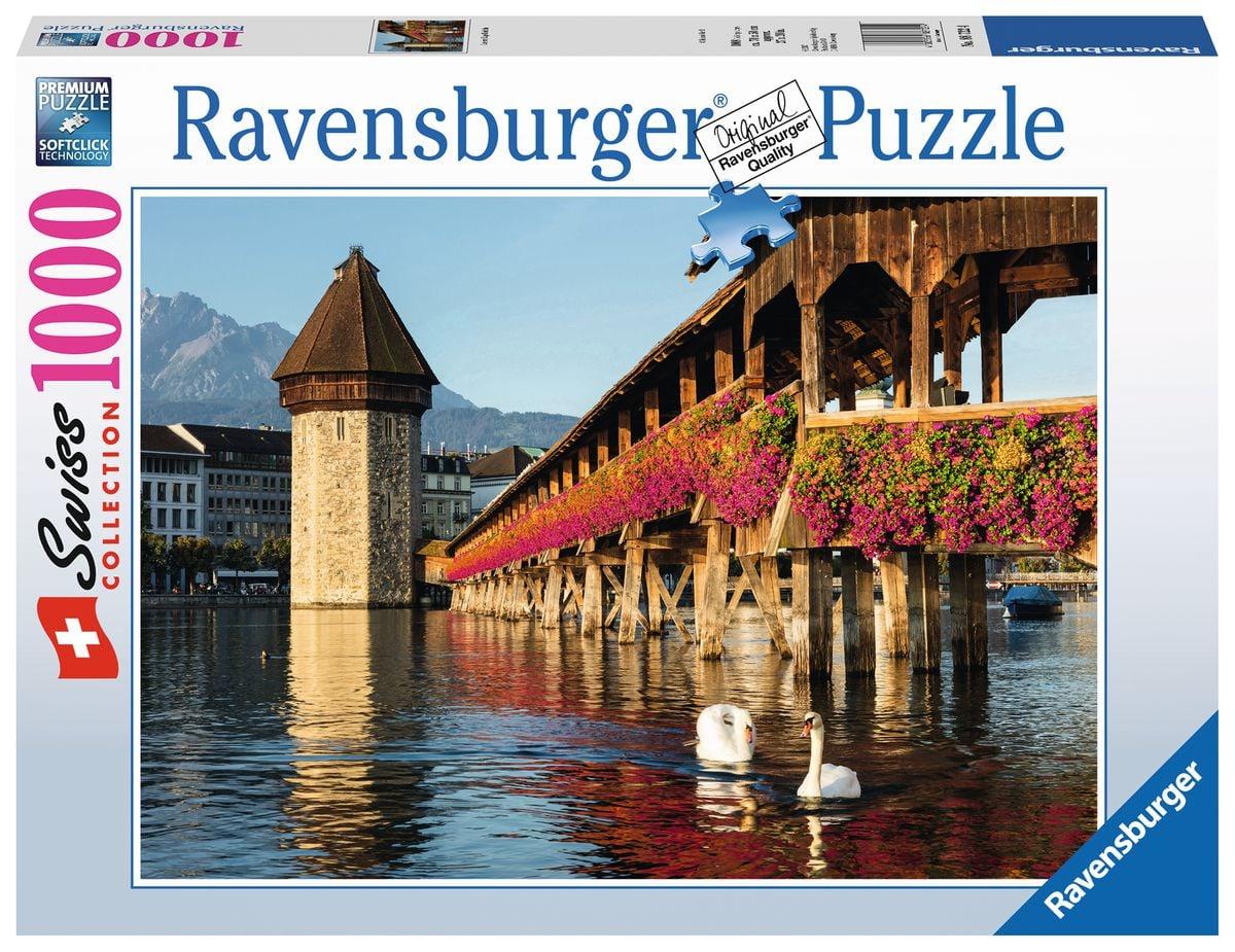 Ravensburger C+R Luzern Kapellbrücke Puzzle