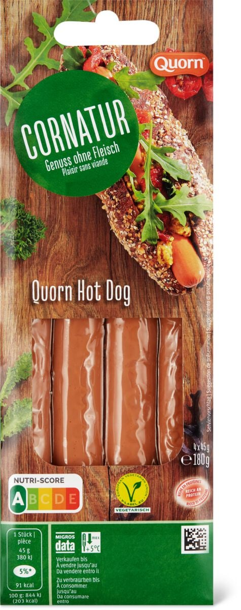 Cornatur Quorn Hot Dog