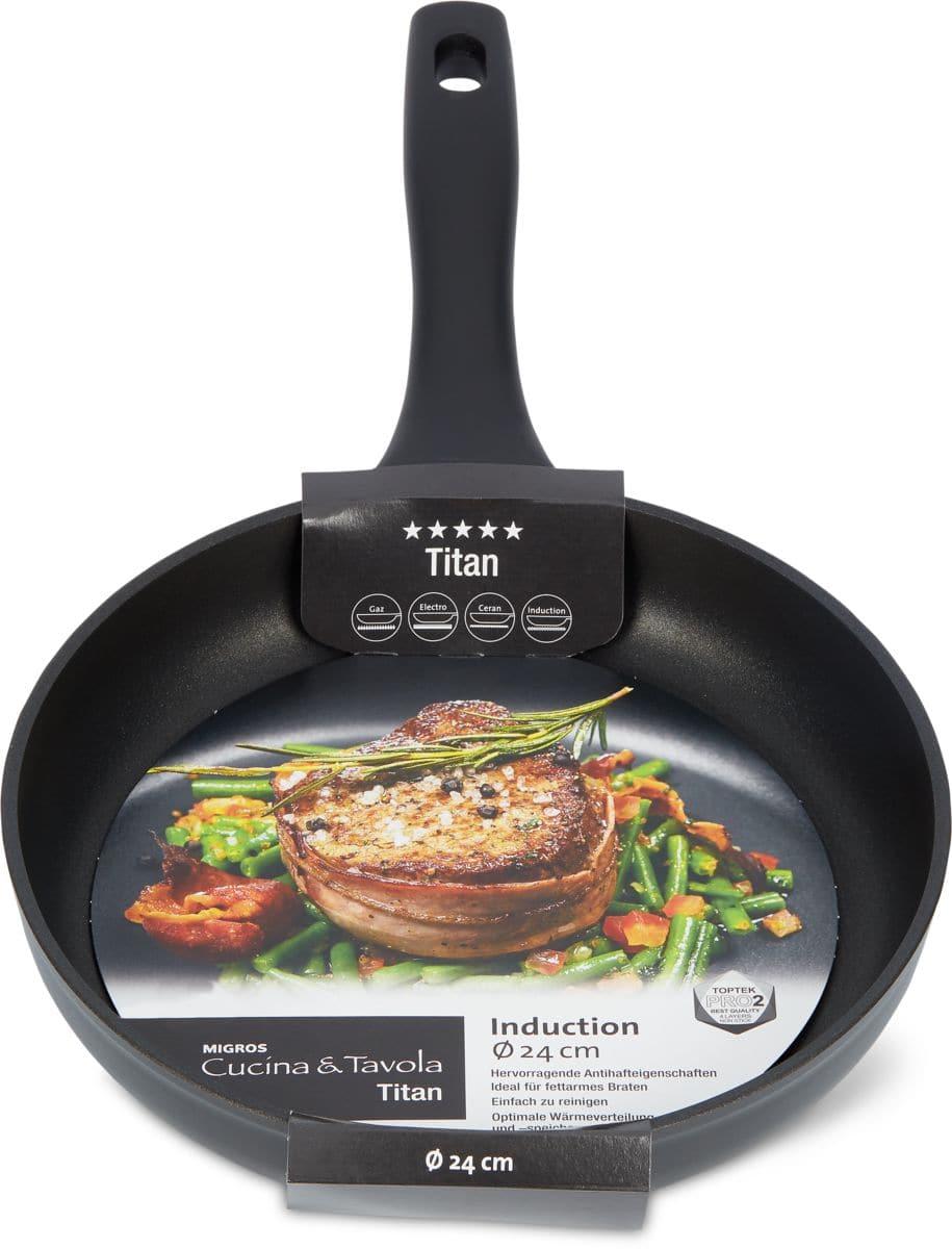 Cucina & Tavola TITAN Bratpfanne flach
