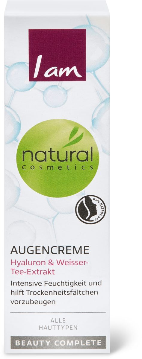 I am Natural Cosmetics beauty complete Augenpflegecreme