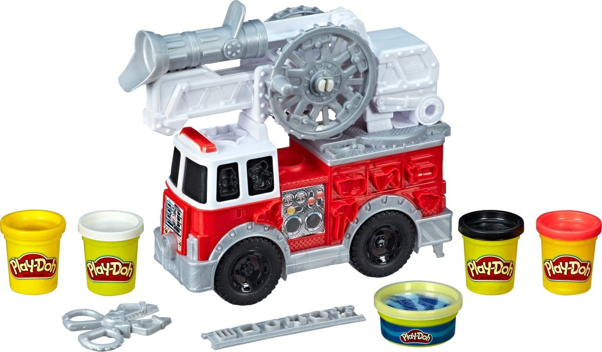 Play-Doh Wheels Camion de pompiers