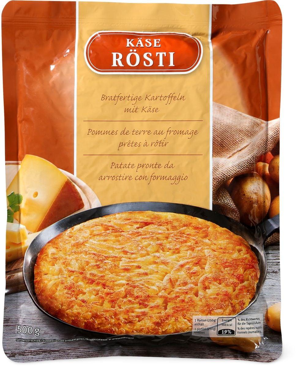 Rösti au fromage