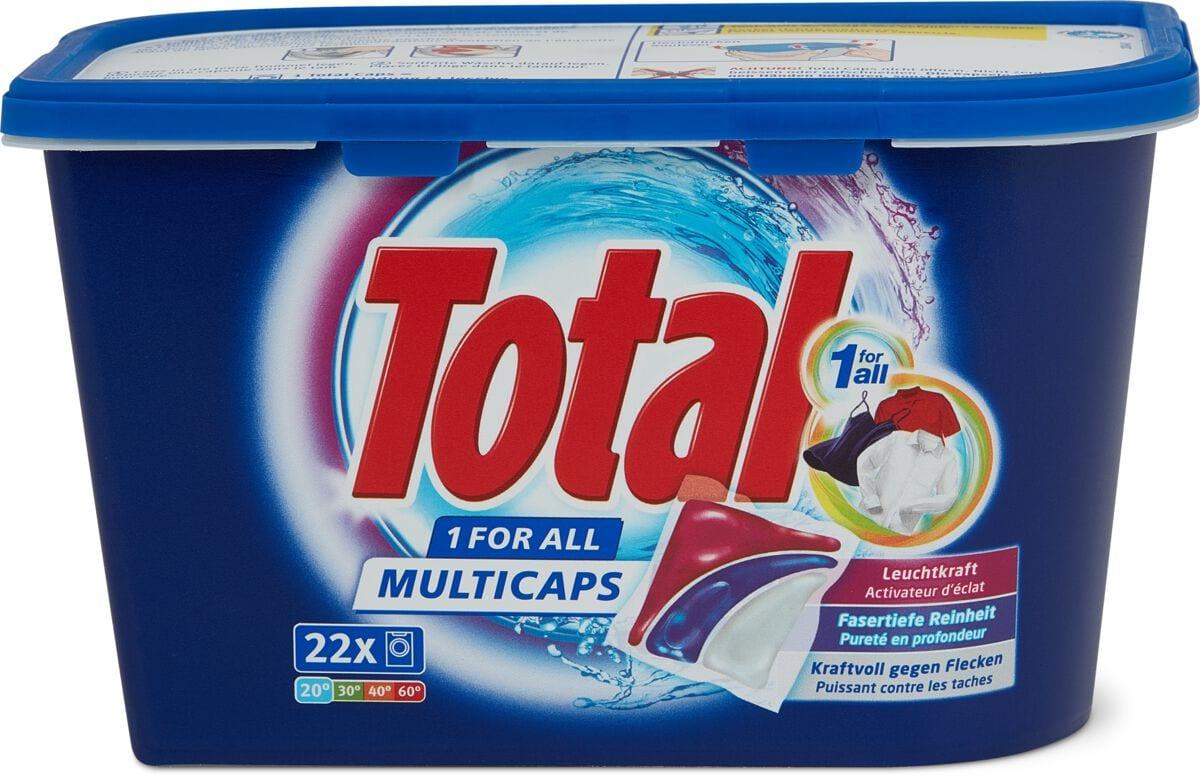 Total Produit de lessive 1 for All Multicaps en boîte