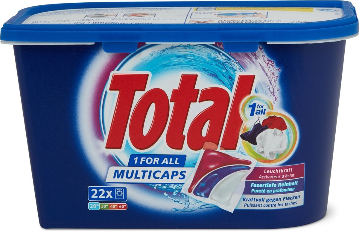Total Waschmittel 1 for All Mulitcaps Box