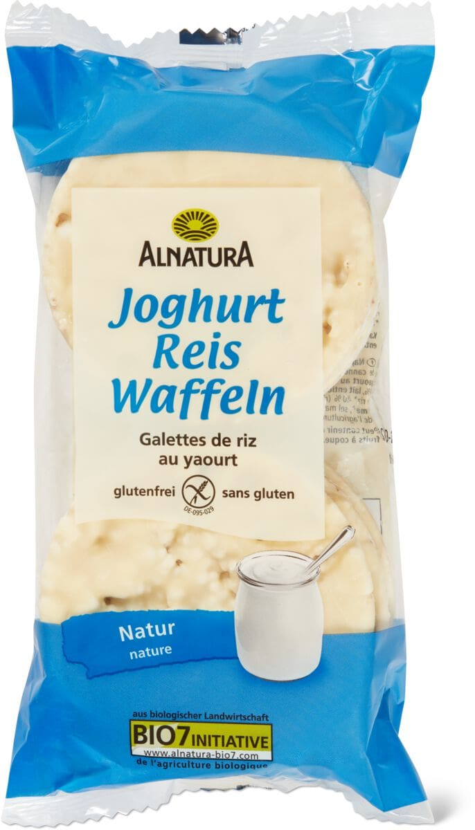 Alnatura Reiswaffeln Joghurt