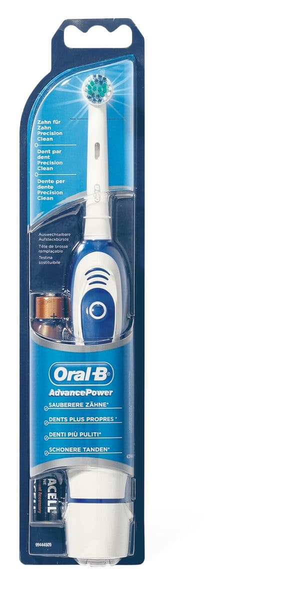 Oral-B AdvancePower Brosse à dents piles