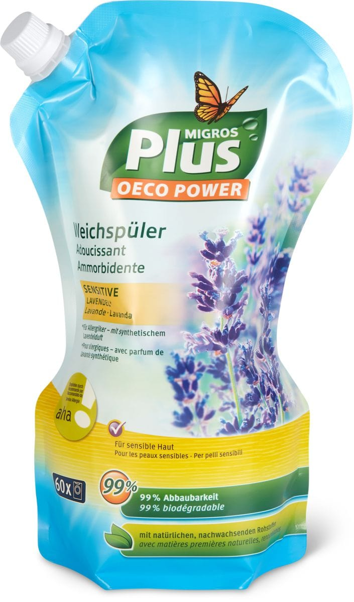 M-Plus Weichspüler AHA Lavendel