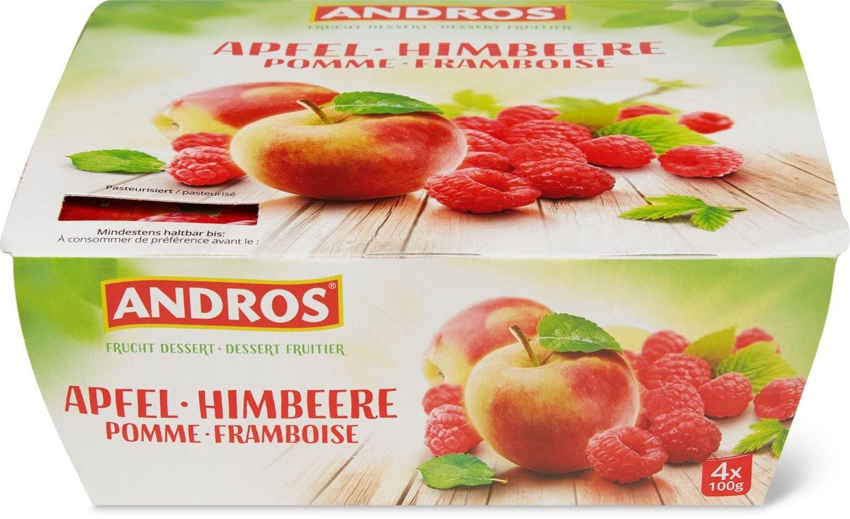 Andros pomme framboise