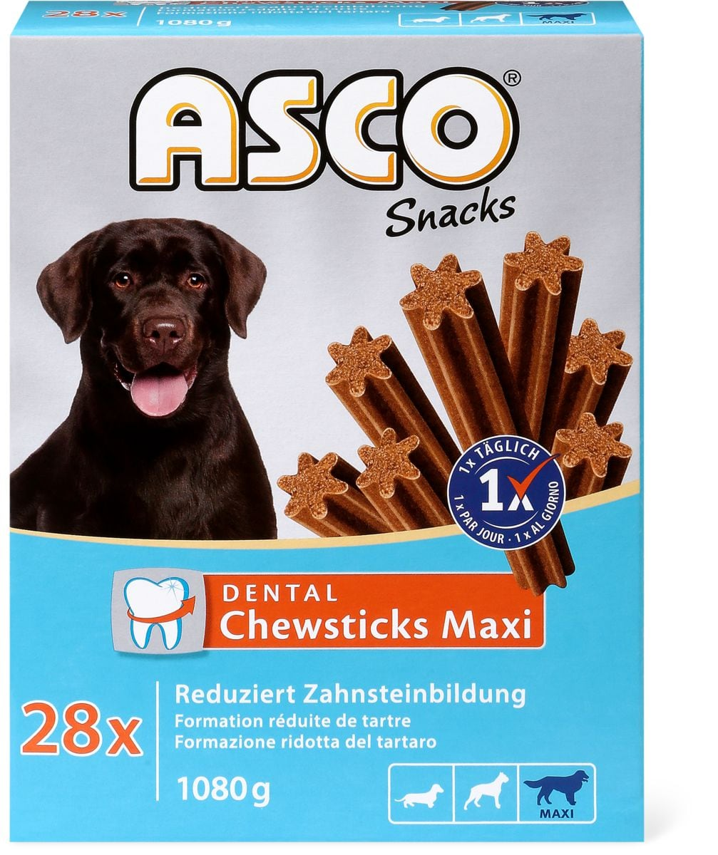Asco Dental Chewsticks Maxi