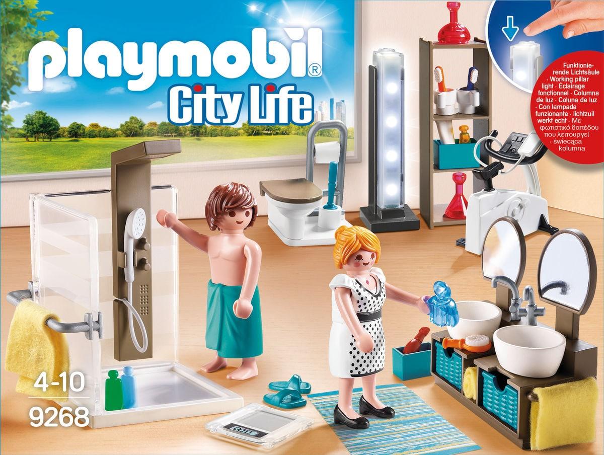 Playmobil City Life Salle de bain avec douche à l'italienne 9268
