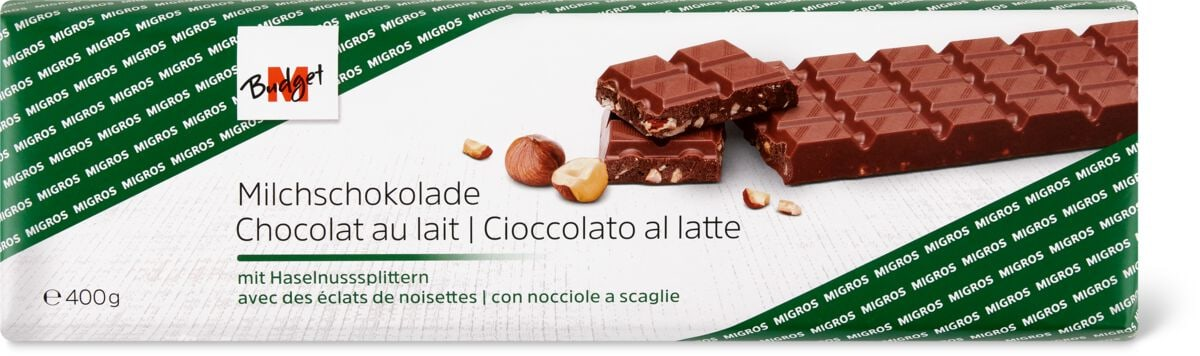 M-Budget Milchschokolade Nuss