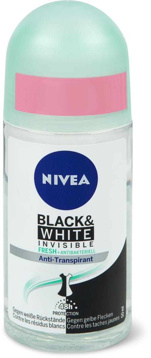 Nivea deodoranti Black&White Fresh Roll-on