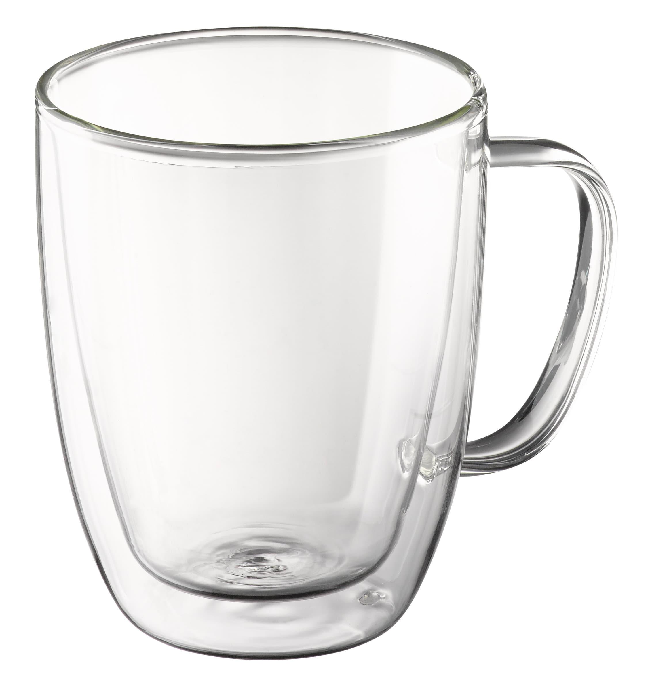 Cucina & Tavola Mug mit Henkel, doppelwandig, 400ml