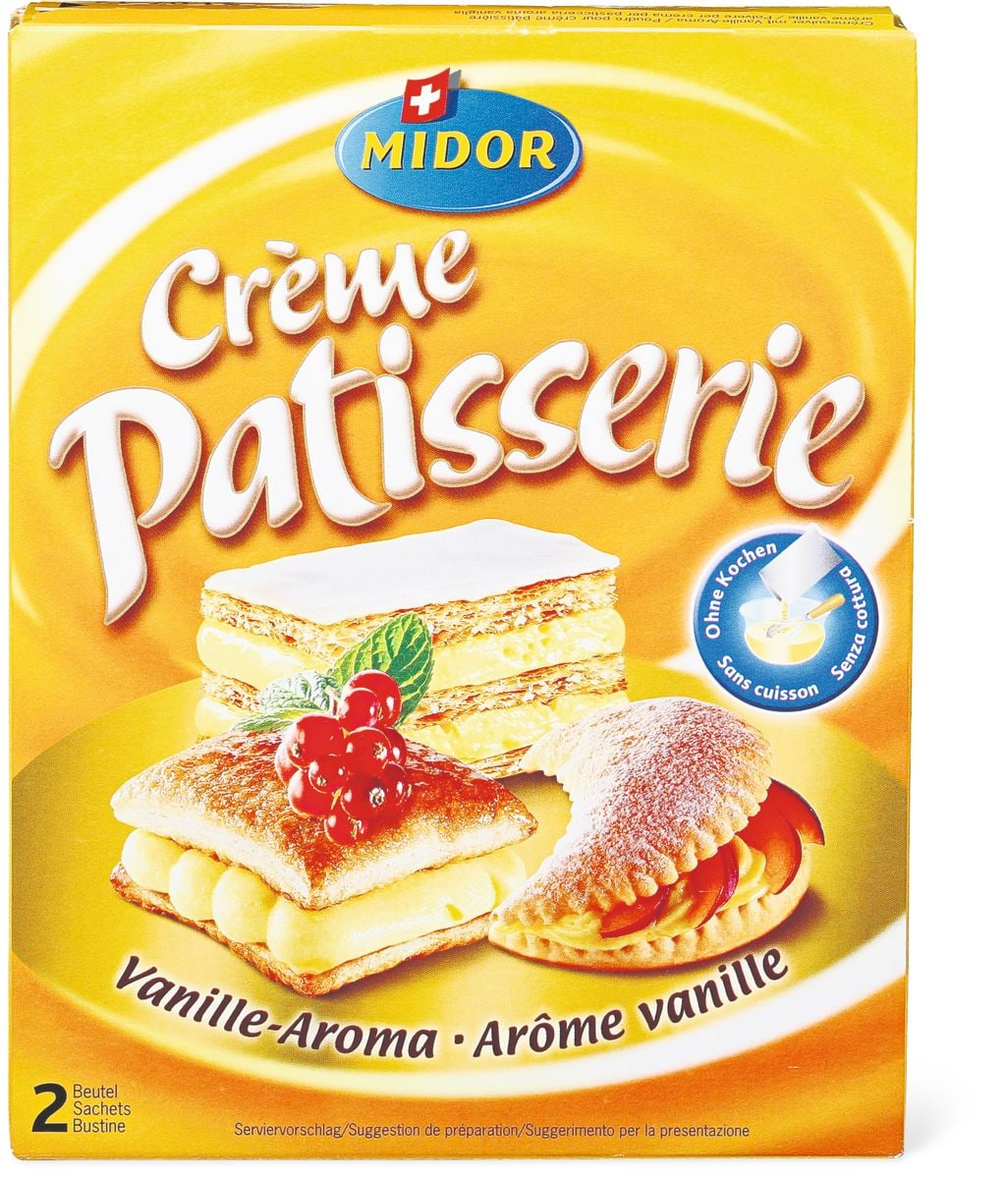 Crème Patisserie Vanille Migros