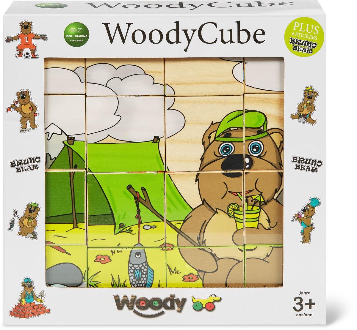 Woody Cube Puzzle Würfel Fsc Puzzle