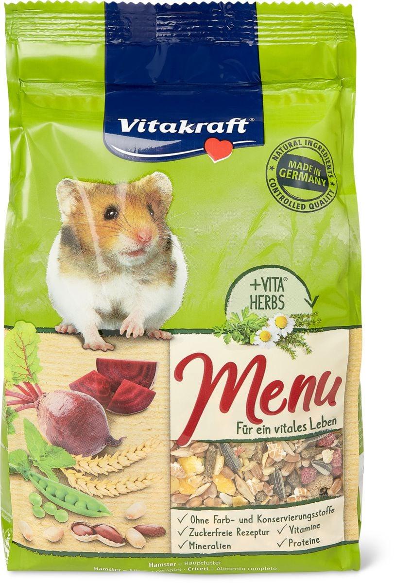 Menu vital Hamster