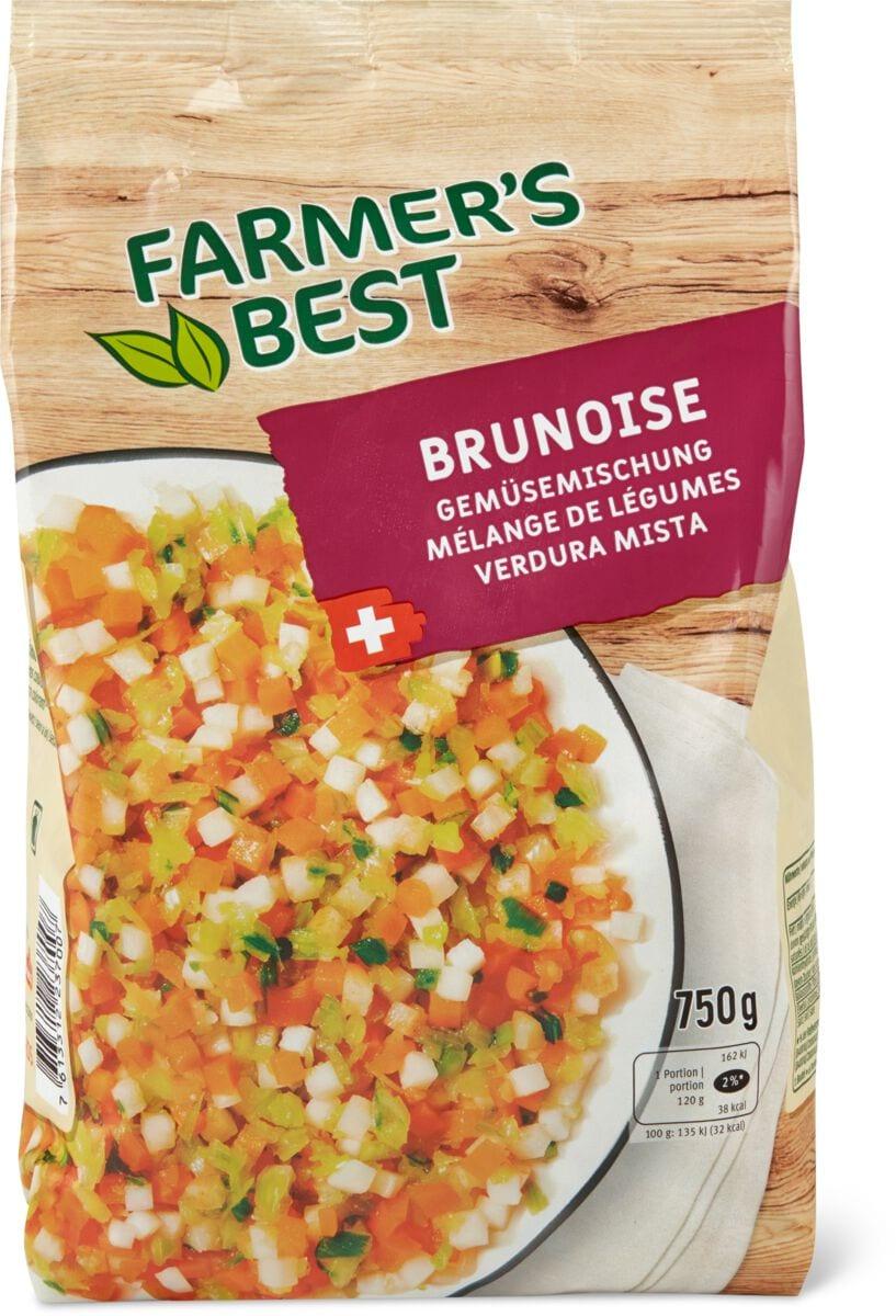 Farmer's Best Gemüsemisch. Brunoise