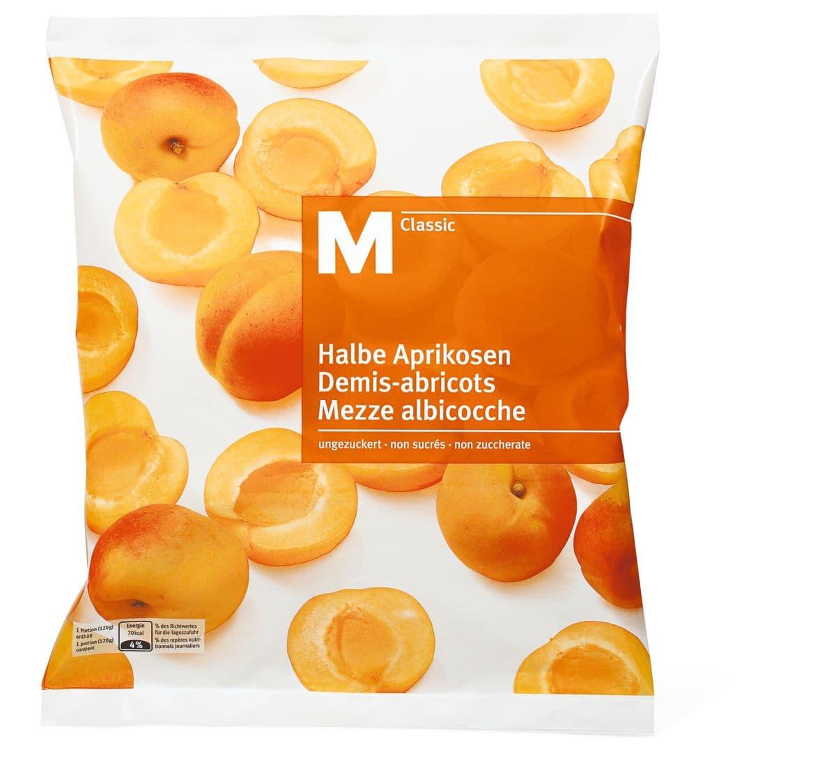 M-Classic Albicocche non zuccherate
