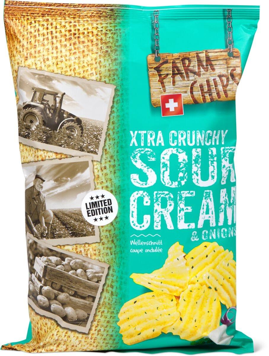 Farm Chips Xtra Sour Cream