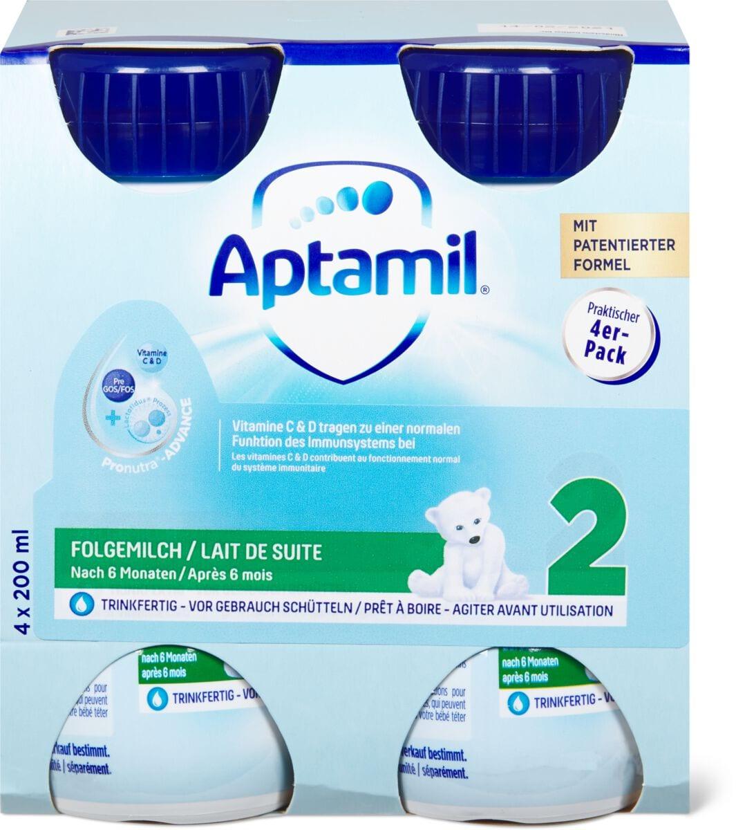 Aptamil Flüssigmilch 2