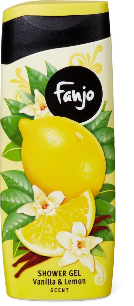 Fanjo Douche vanille citron
